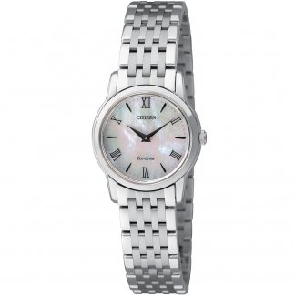 Ladies Slim Mother of Pearl Dial Stiletto Watch EG3040-50D