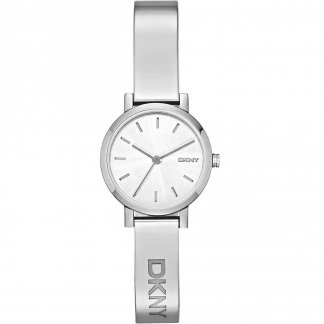 Ladies Soho Stainless Steel Bangle Watch