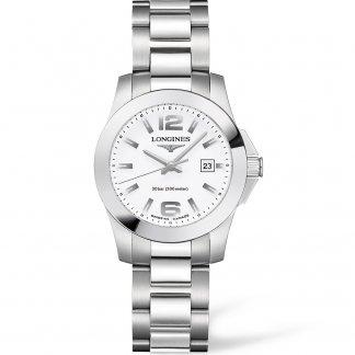 Ladies Sport Conquest 300m Quartz Watch L3.277.4.16.6