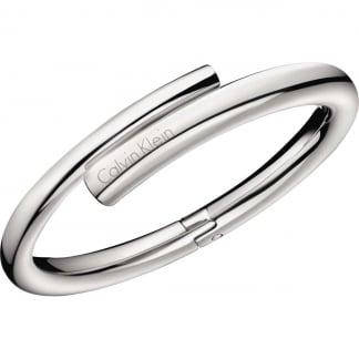 Ladies Steel Hinged 'Scent' Bangle