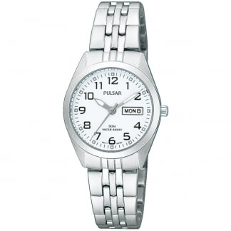 Ladies Steel White Dial Classic Watch PN8003X1