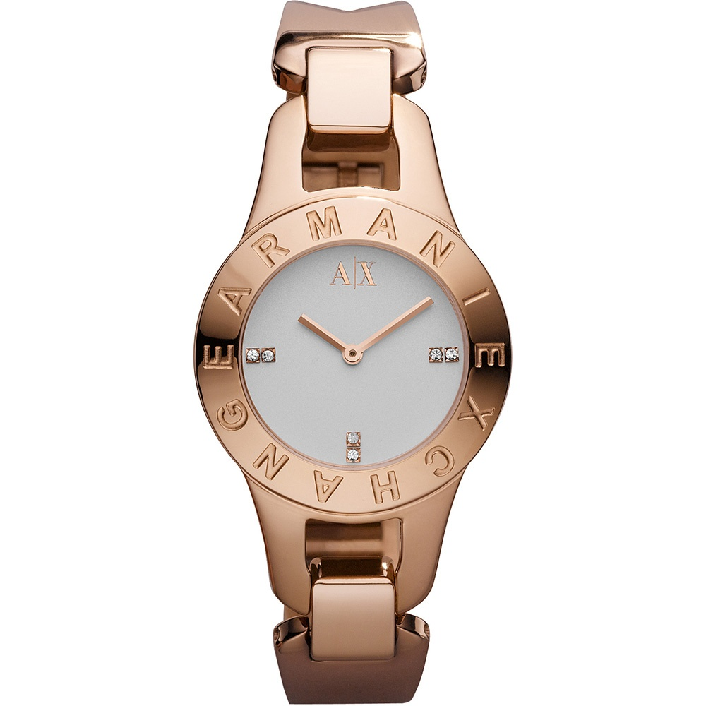 075e839d12b Ladies Rose Gold Tone Stone Set Pipa Watch - Watches   from Francis ...
