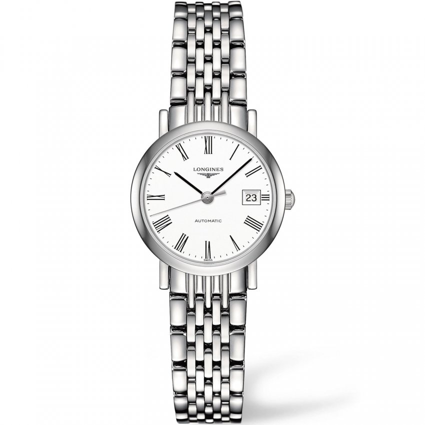 Longines Ladies Swiss Automatic Elegant Flagship Watch L4.309.4.11.6