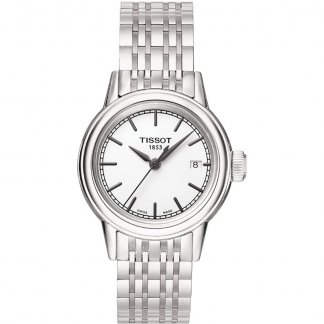 Ladies Carson Silver Tone Bracelet Watch T085.210.11.011.00