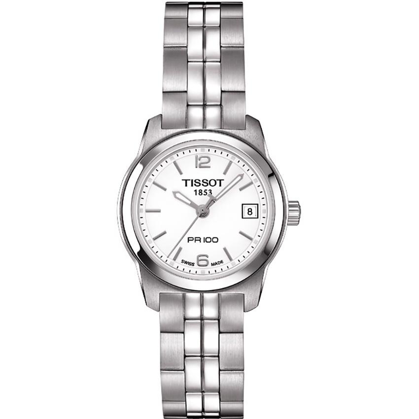Tissot Ladies PR 100 Quartz Silver Dial Lady Watch T049.210.11.017.00