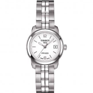 Ladies PR 100 Quartz Silver Dial Lady Watch T049.210.11.017.00