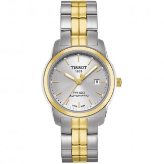 Ladies PR 100 Two Tone Automatic Lady Watch T049.307.22.031.00