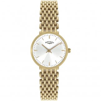Ladies Traditional Gold Tone Quartz Watch