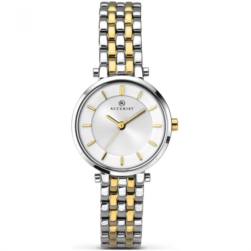 Accurist Ladies Classic Two Tone Watch 8007