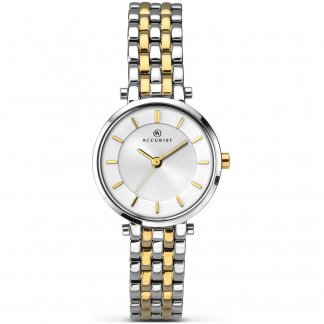 Ladies Classic Two Tone Watch