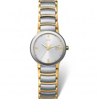 Ladies Two Tone Date Display Centrix Watch