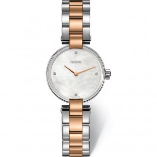 Ladies Coupole Jubile Two Tone Mother of Pearl Dial Watch