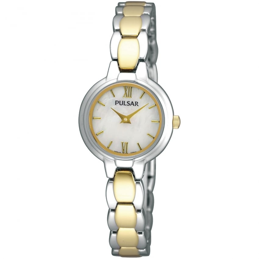 Ladies Two Tone Mother of Pearl Dial Watch PEGF95X1