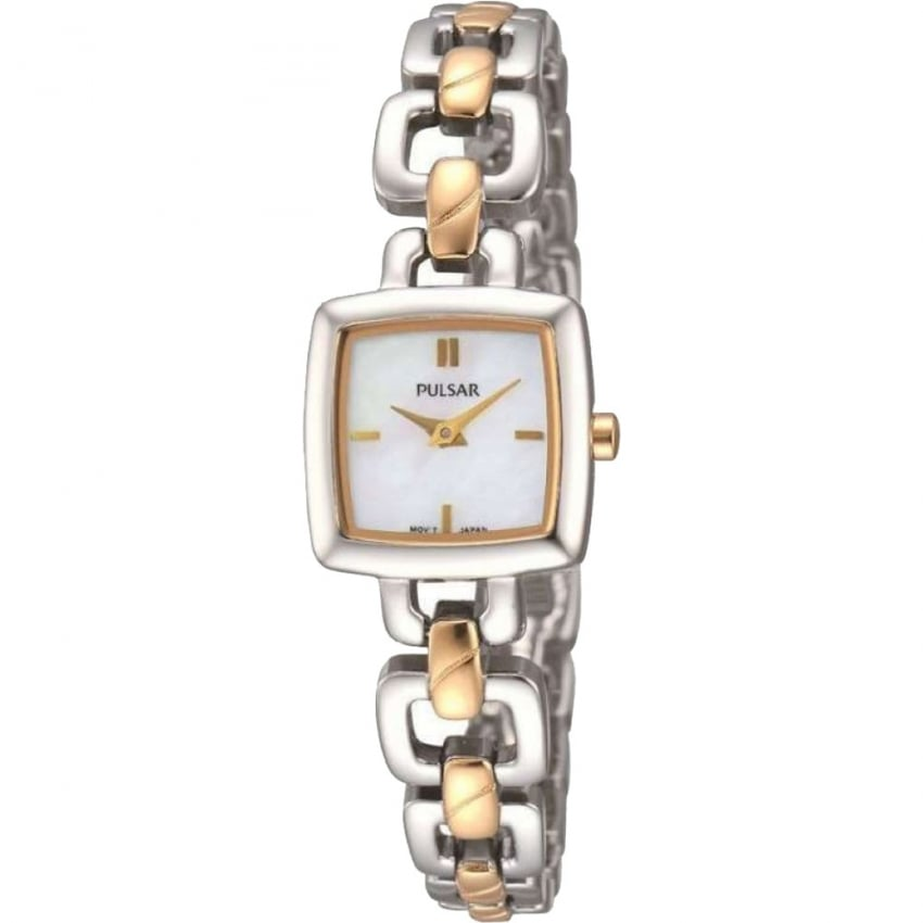 Ladies Two Tone Mother of Pearl Dial Watch PEGG61X1