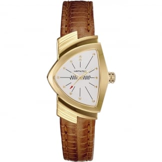 Ladies Ventura Classic Quartz Gold PVD Watch