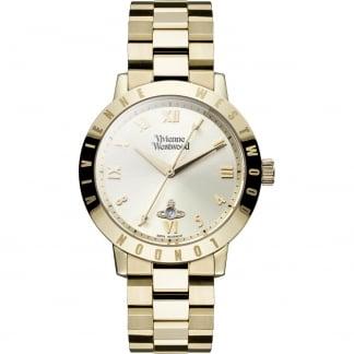 Ladies Bloomsbury Gold Bracelet Watch VV152GDGD