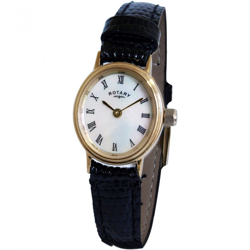 Ladies White Mother of Pearl Gold Tone Watch LSI0471/07