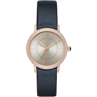 Ladies Willoughby Navy Strap Watch