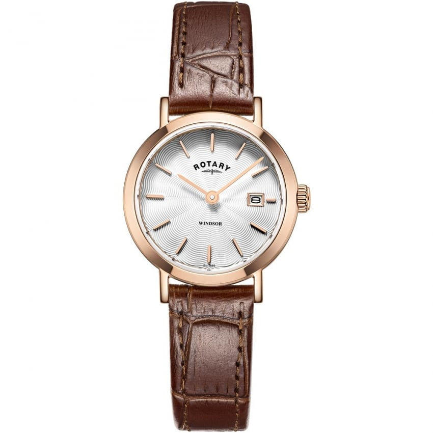 Ladies Windsor Brown Leather Strap Watch LS05304/02