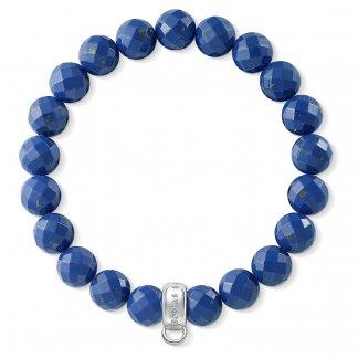 Lapis Lazuli Charm Bracelet X0207-771-32