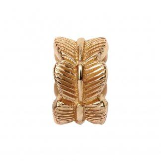 Leaf Gold Charm E25350
