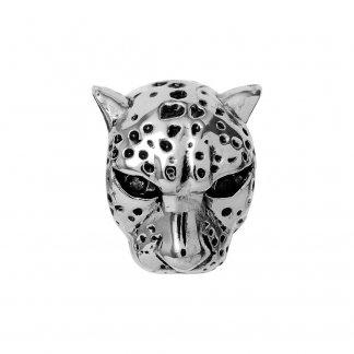 Leopard Silver Charm E21500