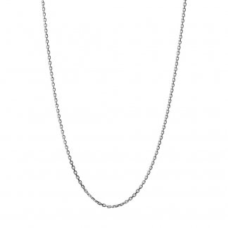 1.2mm Silver Cable Chain - 45cm 5022.0756