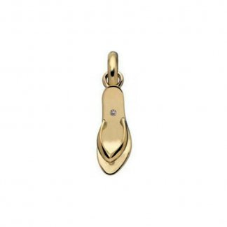 18ct Gold and Diamond Killer Heel Charm 5030.0403