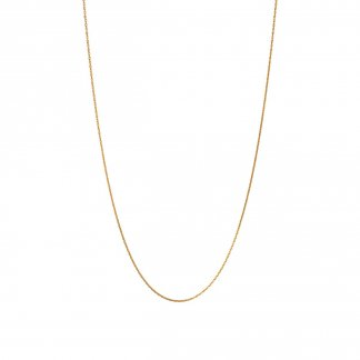 18ct Yellow Gold 1.5MM Cable Chain (70cm) 5022.0787