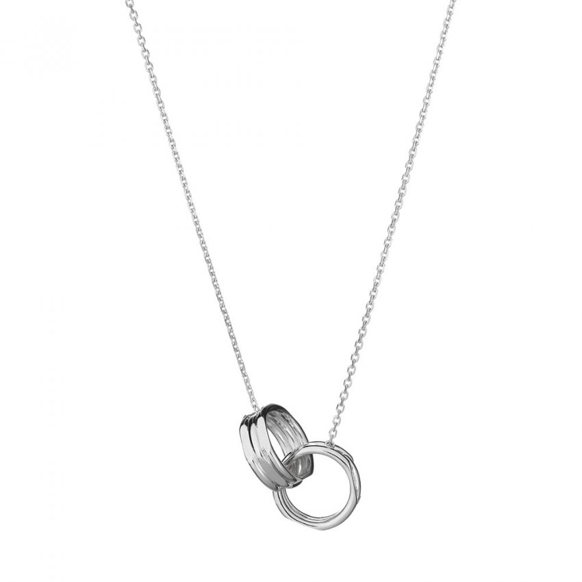 Links of London 20/20 Silver Interlocking Necklace 5020.1364