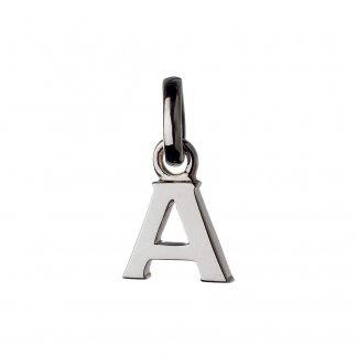 Silver Alphabet A Charm 5030.1094