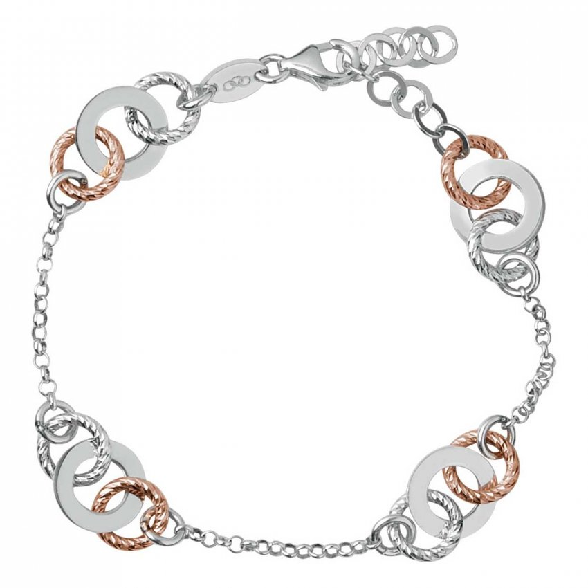 Links of London Aurora Bi-Metal Multi Link Bracelet 5010.2532