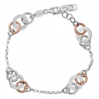 Aurora Bi-Metal Multi Link Bracelet 5010.2532