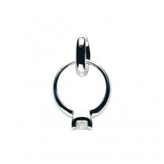 Big Rock Diamond Ring Charm 5030.0345
