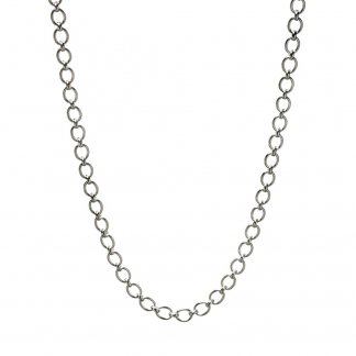 Classic LoL Sterling Silver Necklace
