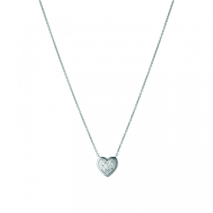 Links of London Diamond Essentials Pave Heart Necklace 5020.2727