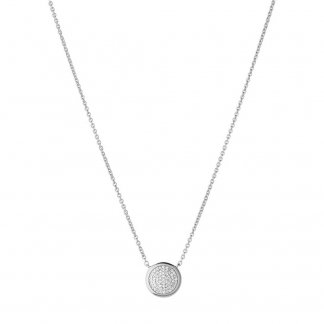 Diamond Essentials Silver Pendant