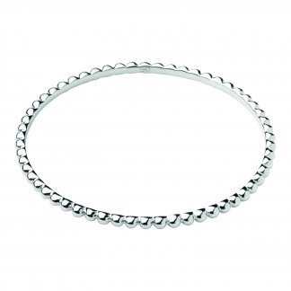 Effervescence Essentials Silver Bangle 5010.2562