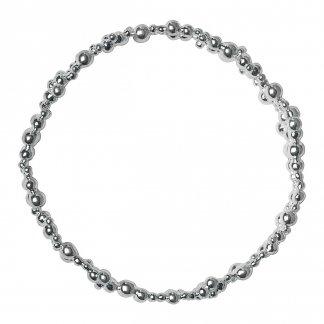 Effervescence Silver Bubble Bangle 5012.0376