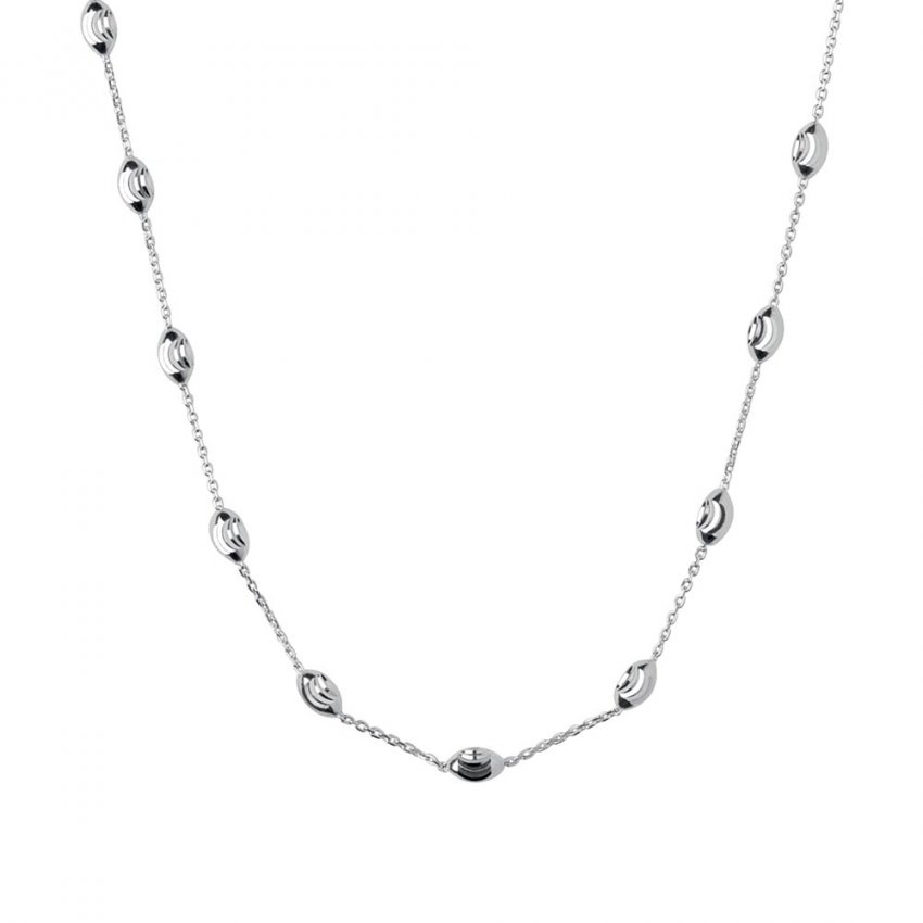 Links of London Essential Silver Beaded 45CM Necklace 5020.2612