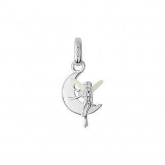 Fairy Godmother Sterling Silver & Enamel Charm