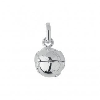 Globe Travelling Locket Charm