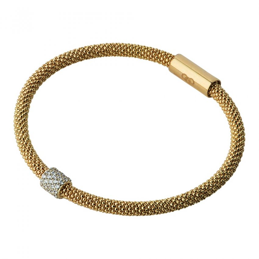 Links of London Gold Star Dust Round Bracelet 5010.2496