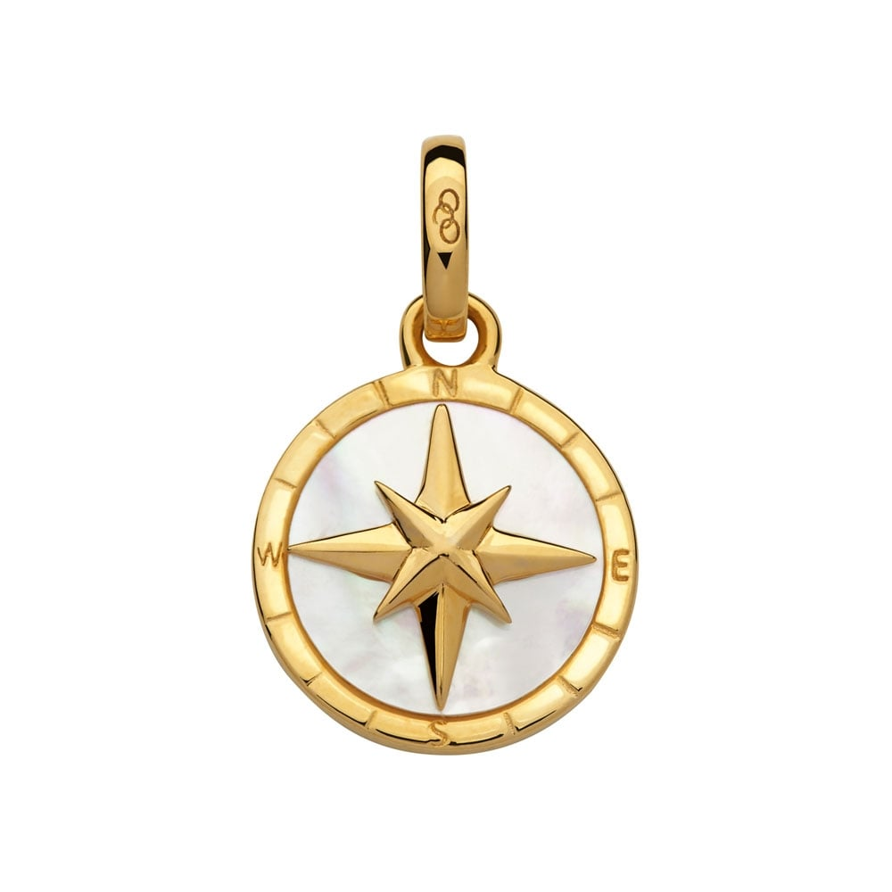 Links of london gold vermeil mother of pearl compass amulet pendant gold vermeil mother of pearl compass amulet pendant aloadofball Gallery