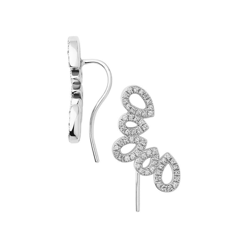593ac9831fffc Links of London Hope Sterling Silver and White Topaz Cuff Earrings