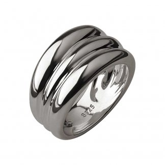Hope Sterling Silver Triple Stack Ring