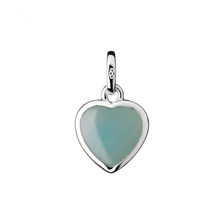 Links Of London Silver And Amazonite Mini Love Note Charm