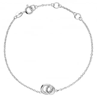 20/20 Mini Silver Interlocked Bracelet