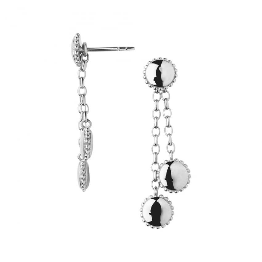 Links Of London Amulet Silver Drop Earrings Jewellery