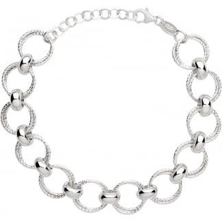 Ladies Aurora Silver Multi Link Bracelet 5010.3172